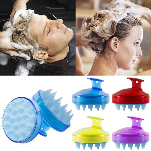 Spa, siliconeshampoobrush, haircaremassager, Combs