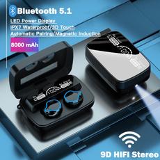 Flashlight, Headset, Microphone, Ear Bud