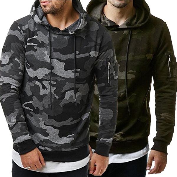 hoodiesformen, Fashion, Winter, Fleece Hoodie