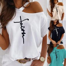 blouse, religionshirt, Plus Size, Cotton Shirt