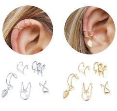 Fashion, leaf, Jewelry, gold