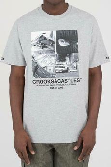 roundnecktop, Slim Fit, Grey, T Shirts