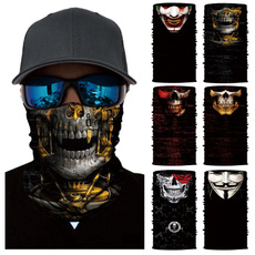 Motorcycle, Cycling, skull, headwear