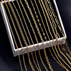 Chain Necklace, Fashion, gold, Chain