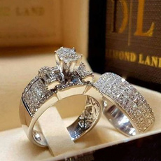 wedding ring, Engagement Ring, Claws, promise rings