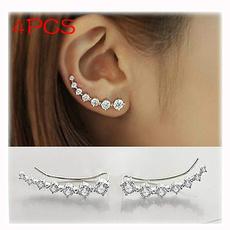 Fashion, Crystal Jewelry, hypoallergenic, Stud Earring