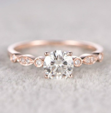 weddingengagement, DIAMOND, Princess, gold