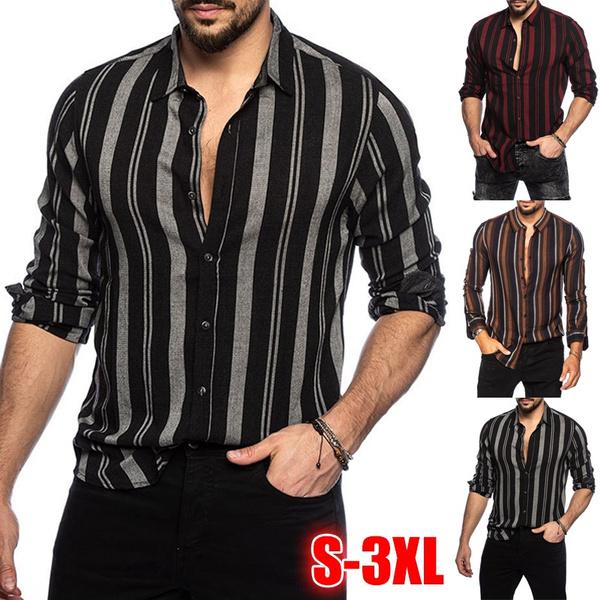 stripedshirtmen, Fashion, Shirt, Sleeve