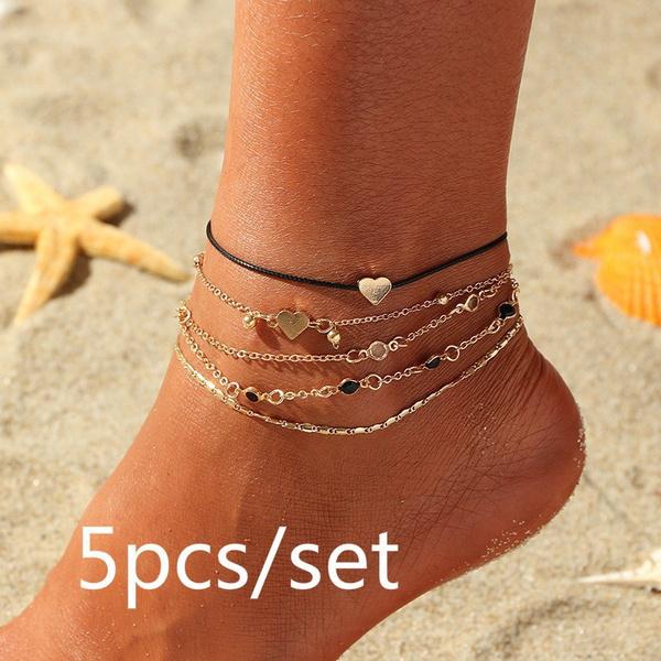 Love, ankletchain, Chain, beachanklet