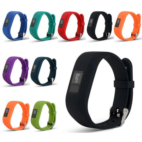 replacementbandforgarmin, wristwatchstrap, Silicone, vivofitband