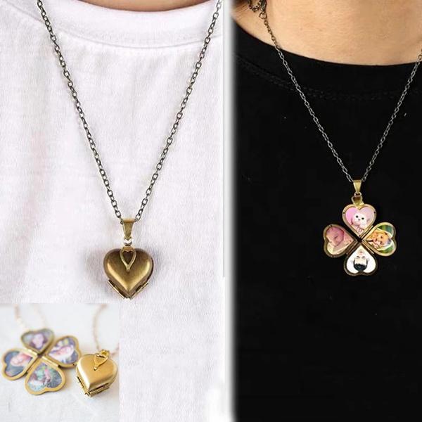 Box, Heart, Jewelry, heart necklace