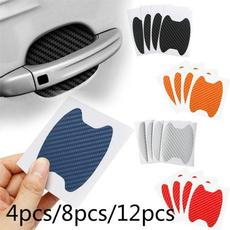 Car Sticker, doorhandlesticker, Fiber, Door