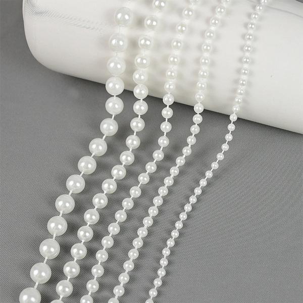 pearlbeadschain, Lines, imitationpearlbead, Wedding Accessories