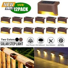 solarsteplight, Outdoor, led, Garden