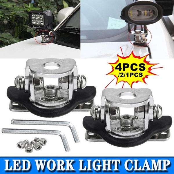 Steel, Stainless, lightbarbracket, worklightclamp