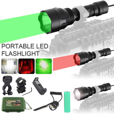 Flashlight, huntingcampinglight, led, Hunting