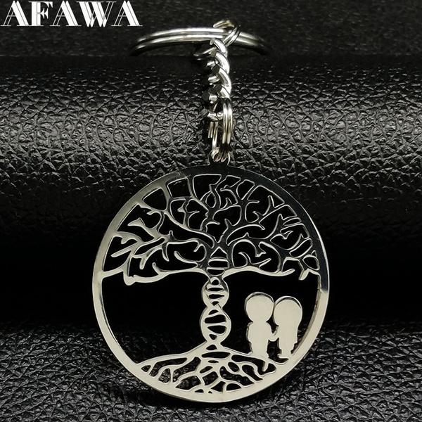 Steel, silvercolorkeychain, Key Chain, Jewelry