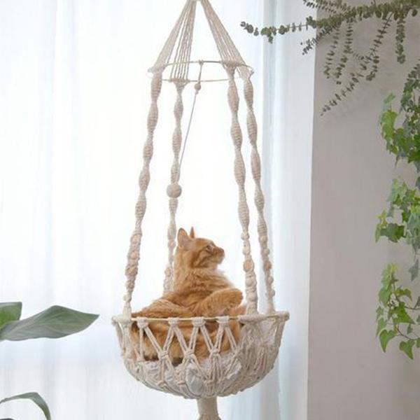 Plants, petcathammock, handwoven, Pets