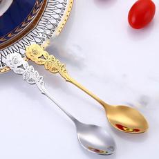Steel, coffeespoon, Coffee, feedingspoon