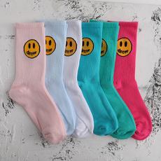 同款, Justin, 袜子, 笑脸