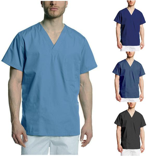 scrubtop, hospital, doctorsclothing, short sleeves