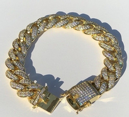goldplatedbracelet, goldplated, DIAMOND, Jewelry