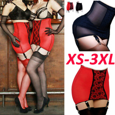 girdlebelt, Panties, 6strapgarterbelt, high waist