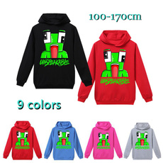 hooded, For Boys, Clothing, Tops