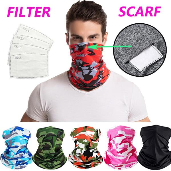 Fashion, Cycling, dustproofandwindproof, unisexscarf