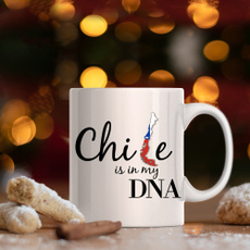 chilean, Mug, from, chile