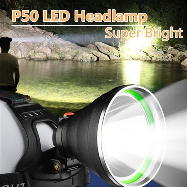 superbrightlamp, Flashlight, Head, Rechargeable