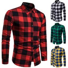 checkshirt, checkered, Shirt, long sleeved shirt