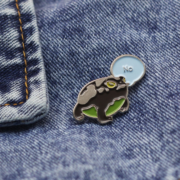 frogpin, Funny, frogbrooch, thefrogprince
