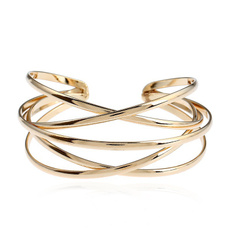 Fashion, gold, Metal, women bracelets