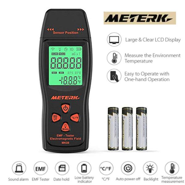 Mini, k2emfmeter, radiationdosimeter, emftester