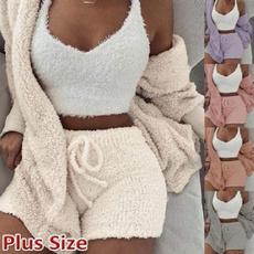 womensleepwear, Fashion, Winter, threepiecessuit