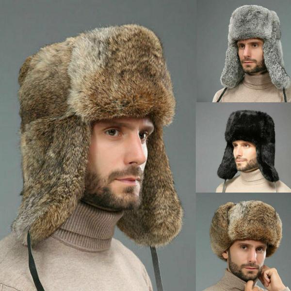 Cap, fur, Winter, Ski
