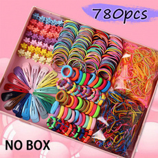 Flowers, Colorful, rubberband, colorfulhairpin