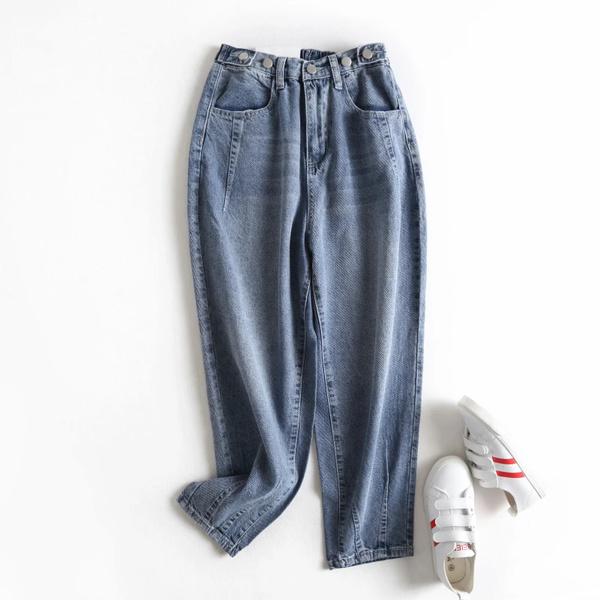 elastic waist, Winter, Elastic, pants