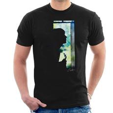 menfashionshirt, silhouette, Cotton T Shirt, Plus size top