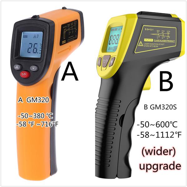 businessampindustrial, testmetersampdetector, measuringdevice, noncontactlcdthermometer
