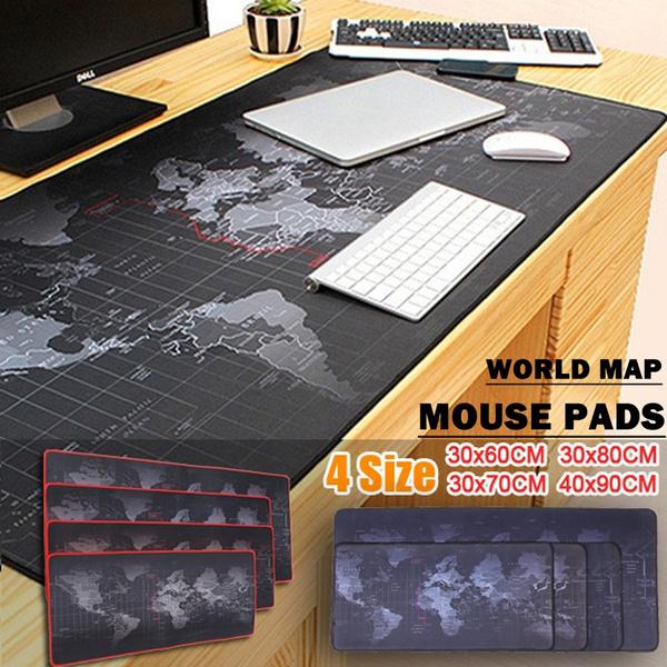 deskmat, worldmap, mousepadgamer, Desk