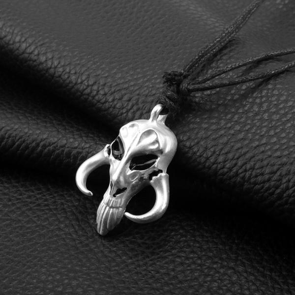skullheadportrait, Personalized necklace, movieaccessorie, Jewelry