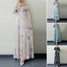 dressforwomen, muslimdres, Sleeve, Elegant