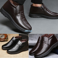 non-slip, cottonpaddedshoe, leather shoes, Waterproof
