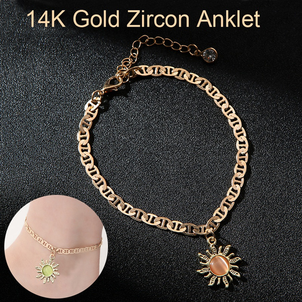 Flowers, baganklet, Jewelry, gold