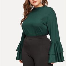 blouse, plus, Plus Size, chiffon