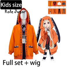 Fashion, runacosplaykakegurui, kidscostumesforgirl, Orange