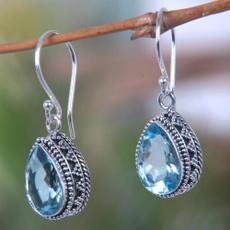 Blues, Sterling, Jewelry, Stud Earring