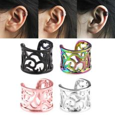 Steel, Hoop Earring, punk earring, Earring